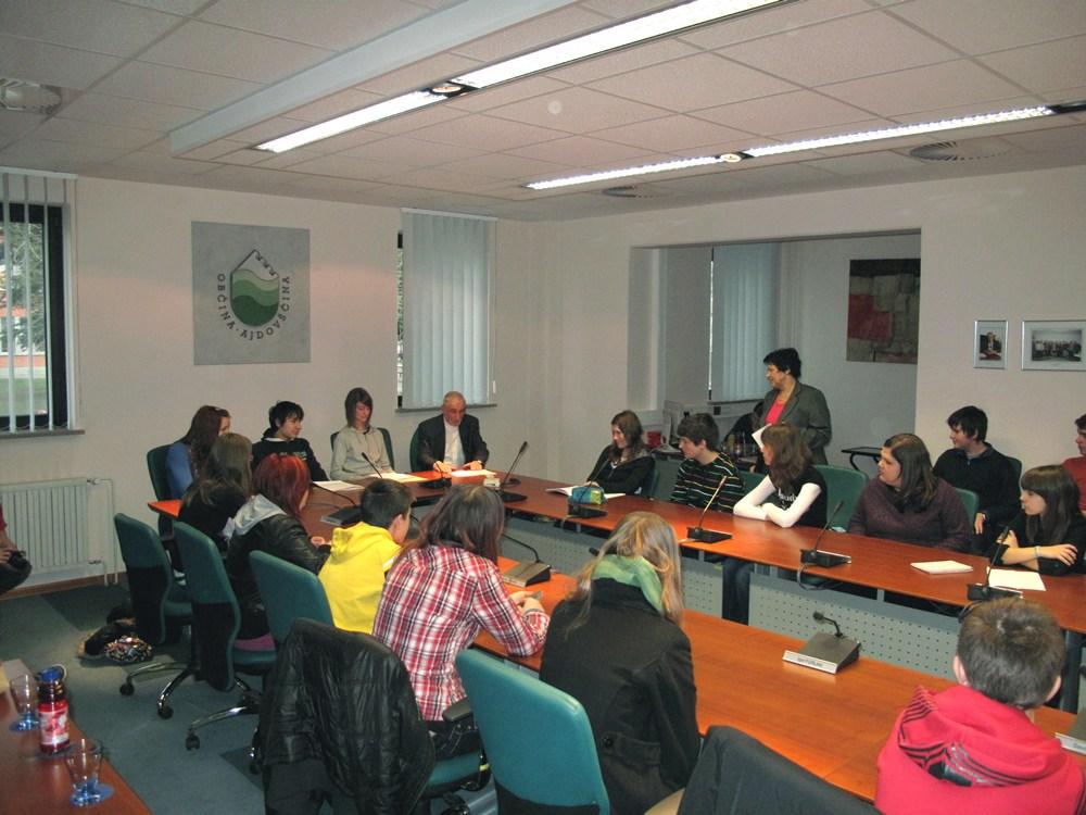 21. medobčinski otroški parlament v Ajdovščini