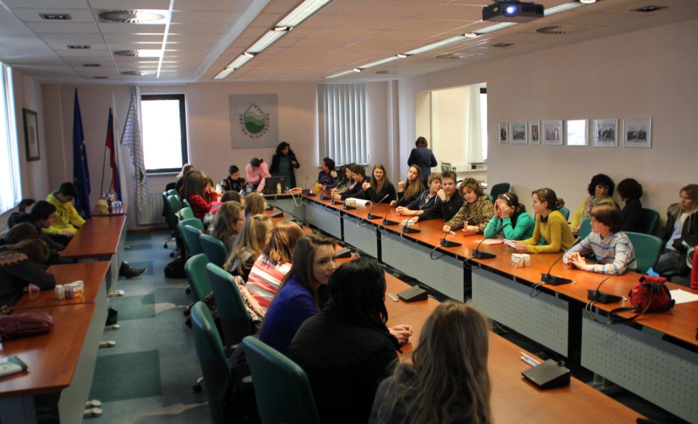 Medobčinski otroški parlament v Ajdovščini