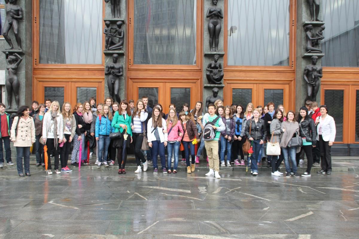 Obisk parlamenta in državnega zbora v Ljubljani.